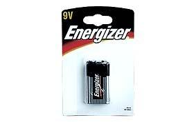 Alkalická baterie Energizer 9V