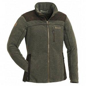 Bunda PINEWOOD Diana Exclusive Fleece 3067 olivová/hnědá dámská vel. XS - 1