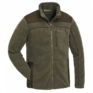Bunda PINEWOOD Prestwick Exclusive Fleece olivová/hnědá 5067 vel. XL - 1