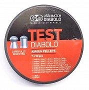 Diabolo JSB TEST Exact 4,5mm 7x50ks