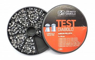 Diabolo JSB TEST Exact 4,5mm 7x50ks - 3