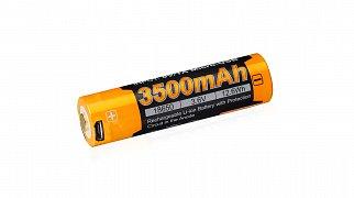 Dobíjecí baterie Fenix  USB 18650 3500 mAh (Li-ION)