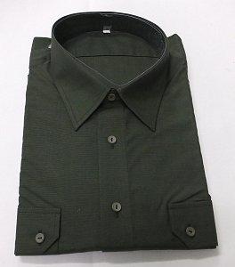 Košile zelený proužek vel. 48 - 1