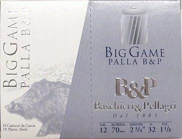 Náboj B & P Big Game Palla r.12x70 10ks - 1
