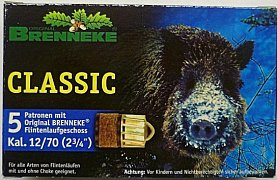 Náboj Brenneke Classic 12x70