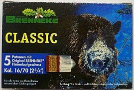 Náboj Brenneke Classic 16x70