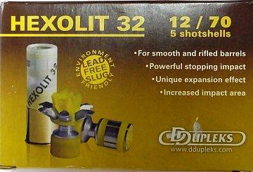 Náboj DDUPLEKS 12x70 Hexolit 32g 5ks - 1