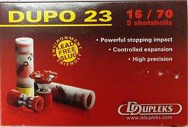 Náboj DDUPLEKS 16x70 Dupo 23g 5 ks
