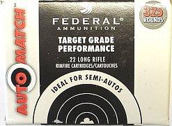 Náboj Federal .22 LR Auto Match 325 ks