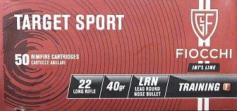 Náboj FIOCCHI .22 LR TT Sport 50 ks