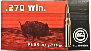 Náboj GECO .270 Win. Plus 9,7g 20 ks