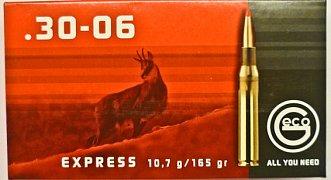Náboj Geco 30-06 Spr. Express 10,7g 20 ks