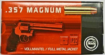 Náboj Geco .357 Mag. FMJ 10,2g 50 ks