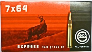 Náboj Geco 7x64 Express 10g 20 ks
