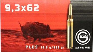 Náboj Geco 9,3x62 Plus 16,5g 20 ks