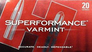 Náboj Hornady 243 Win Superformace Varmint 58gr V-Max 20ks