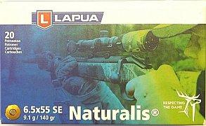 Náboj Lapua 6,5x55 SE 9,1g Naturalis 20 ks