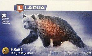 Náboj Lapua 9,3x62 MEGA 18,5g 20 ks