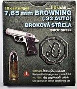 Náboj Libra 7,65 Brow. broková střela 10 ks