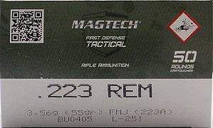 Náboj MAGTECH .223 Rem. FMJ 3,56g 50 ks