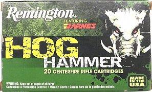 Náboj Remington 30-06 Spr. Hog Hammer TSX 168 gr. 20 ks