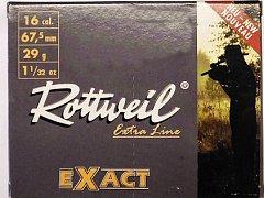 Náboj ROTTWEIL 16x67,5 Brenneke Exact 29g 10 ks