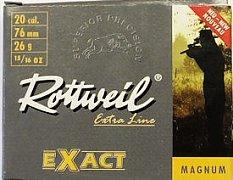 Náboj ROTTWEIL 20x76 Exact 26g 5 ks