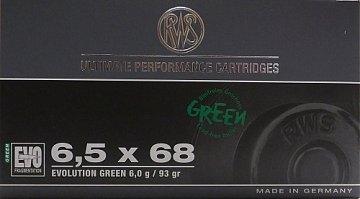 Náboj RWS 6,5x68 EVO GREEN 6g 20ks - 1