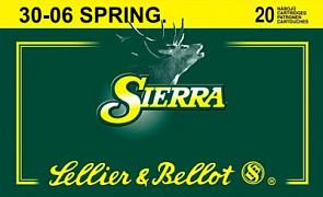 Náboj S&B 30-06 Spr. Sierra 20 ks