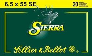 Náboj S&B 6,5x55 SE Sierra 20 ks