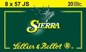 Náboj S&B 8x57 JS Sierra 20 ks