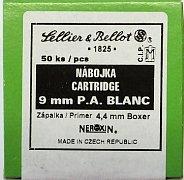 Náboj S&B 9 mm P.A. BLANC