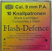Náboj Wadie 9mm P.A.Flash Defence 10ks