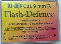 Náboj Wadie 9mm R. Flash Defence 10ks