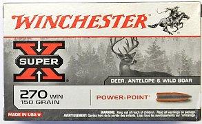 Náboj Winchester 270 Win. Power Point 9,72 g 20 ks