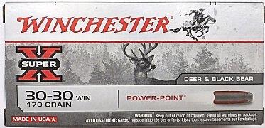 Náboj Winchester .30-30 Win. Power Point 11g 20 ks