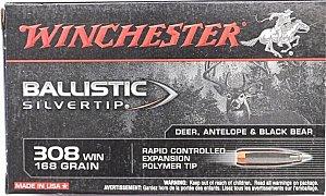 Náboj Winchester .308 Win. Ballistic Silvertip 10,89g 20 ks