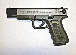 Pistole ISSC M22 Target Bicolor