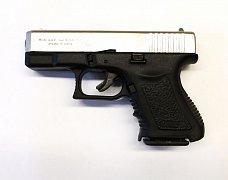 Plynový pistole BRUNI MINIGAP nikl cal. 9mm