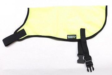 Reflexní vesta pro psy bez reflexního pruhu vel. L žlutá - 1
