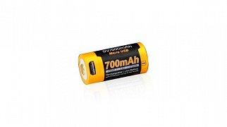 Baterie Fenix RCR123A s USB