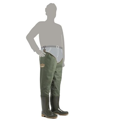 Broďáky Demar Grand Waders zelené vel. 45