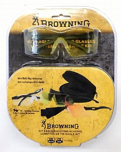 Brýle střelecké Browning sada KIT EAGLE - 2