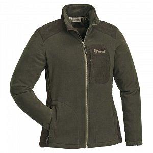 Mikina PINEWOOD Wildmark Membrane Fleece hnědá 3066 dámská vel. S - 1