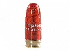 Cvičný náboj .45 ACP plast