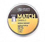 Diablo JSB Match Middle Weight 4,5mm 0,520g 500 ks