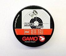 Diabolky Gamo Match 4,5mm 250 ks plechová dóza