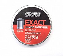 Diabolo JSB Exact Jumbo Monster 5,52mm 1,645g 200 ks
