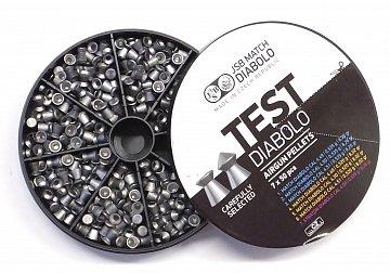 Diabolo JSB TEST Match 4,5mm puškové 7x50ks - 3
