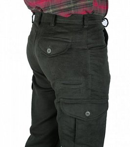 Kalhoty Afars Moleskin Slim vel. 110 - 2